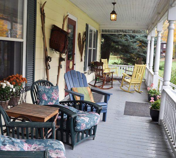 Keene Valley B&B Porch