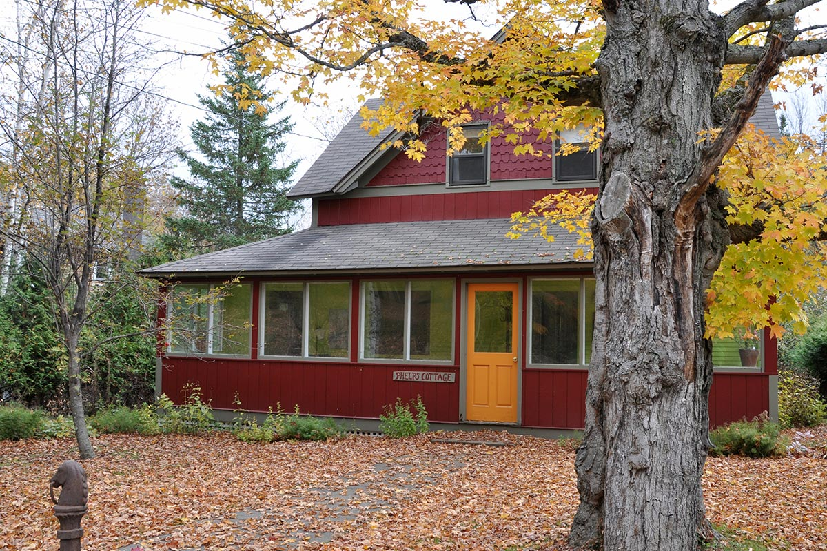 Exterior of Phelps Cottage