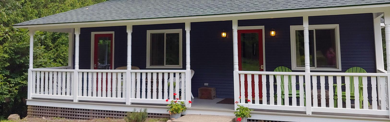 Phelps Cottage front door